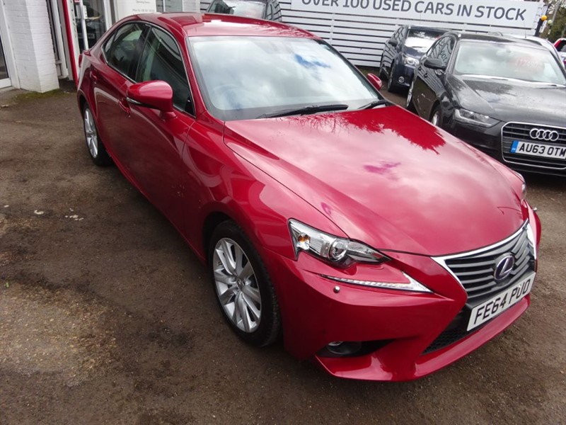 used Lexus IS 300h EXECUTIVE EDITION - SAT NAV - H/LEATHER -BLUETOOTH in amersham