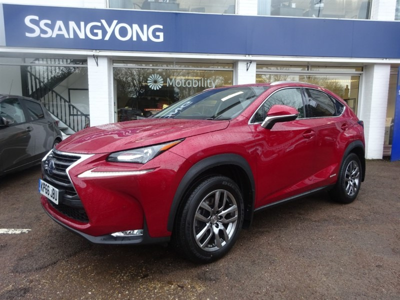 used Lexus NX 300h 300H LUXURY - H/LEATHER - R/CAMERA - SAT NAV in amersham