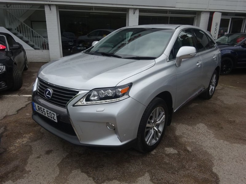 used Lexus RX 450h ADVANCE SUN ROOF - FLSH - SAT NAV- CAMERA -H/LEATHER in amersham