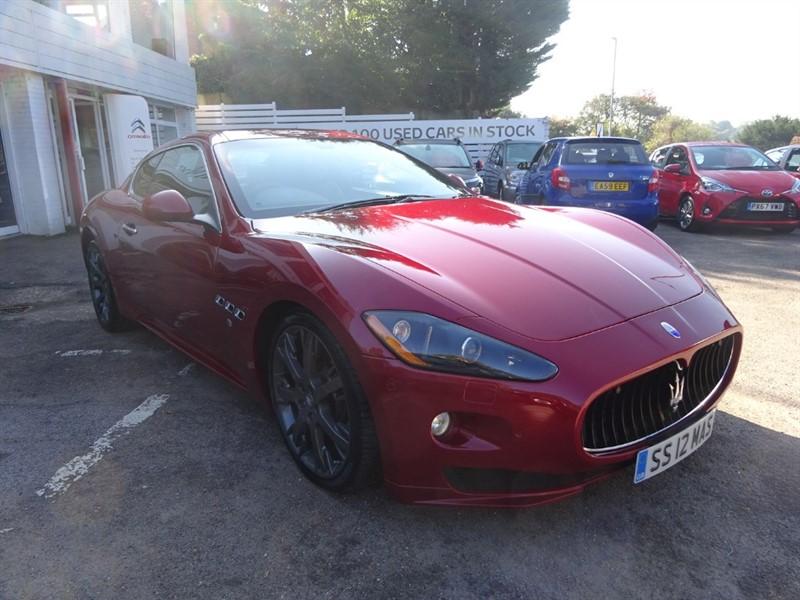 used Maserati Granturismo S - SPORT PACK - FMSH- H/LEATHER in amersham