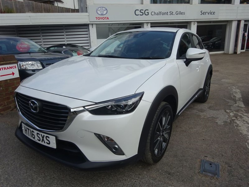 used Mazda CX-3 SPORT NAV - 1/2 LEATHER -BLUETOOTH - PDC - in amersham