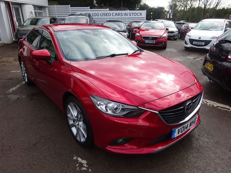 used Mazda Mazda5 SPORT VENTURE EDITION - SAT NAV - CAMERA - H/LEATHER - FMSH in amersham