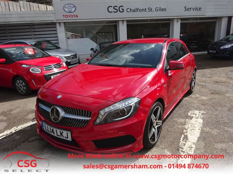 used Mercedes A250 BLUEEFFICIENCY ENGINEERED BY AMG AUTO - NAV - FMBSH - XENONS - COMFORT SEAT in amersham