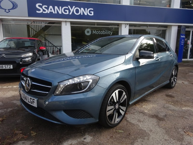 used Mercedes A180 CDI BLUEEFFICIENCY SPORT - 1/2 LEATHER - NIGHT PACKAGE - THIRTY POUNDS TAX in amersham
