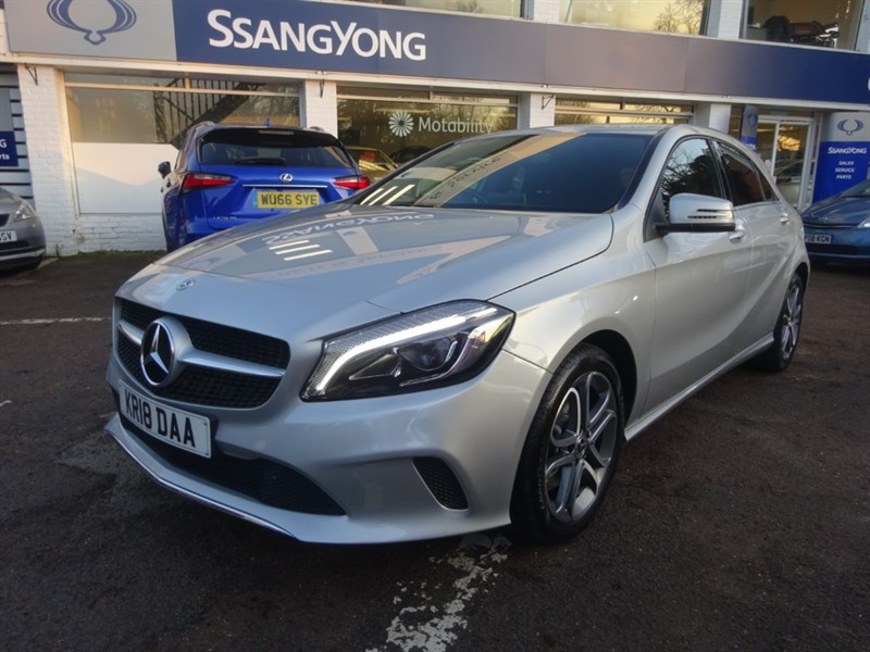used Mercedes A180 A 180 SPORT EDITION - SAT NAV -R/CAMERA -1/2 LEATHER - FMSH in amersham