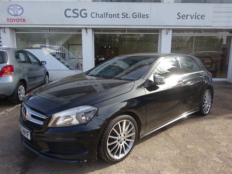 used Mercedes A180 CDI BLUEEFFICIENCY AMG SPORT - SAT NAV - BLUETOOTH - H/SEATS - £20.00 TAX in amersham