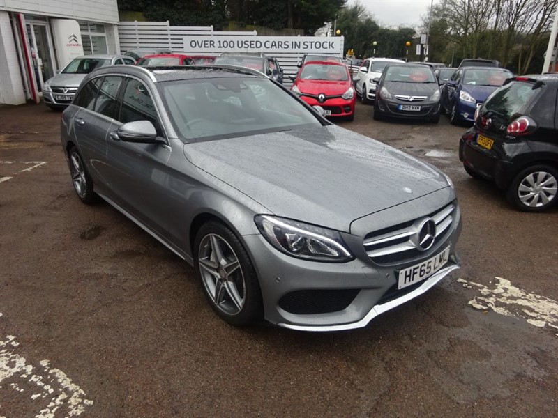used Mercedes C250 D AMG LINE PREMIUM PLUS - P/ROOF -SAT NAV - H/LEATHER in amersham