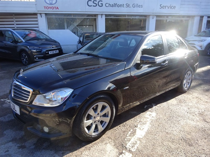used Mercedes C180 BLUEEFFICIENCY SE - FMSH - COMMAND SAT NAV - BLUETOOTH in amersham