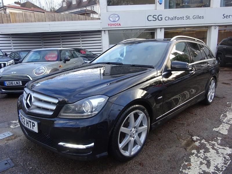used Mercedes C220 CDI BLUEEFFICIENCY SPORT - SAT NAV - 1/2 LEATHER - PDC - FSH in amersham