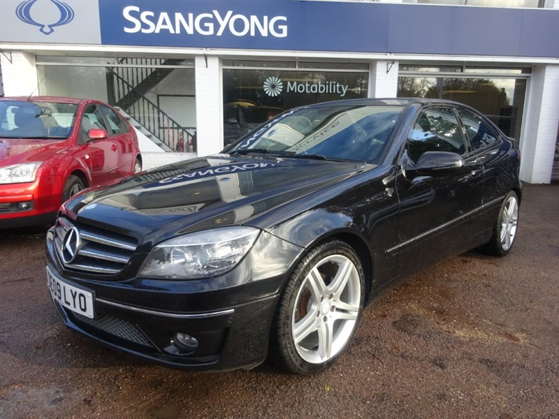 used Mercedes CLC180 KOMPRESSOR SPORT - H/LEATHER - PARKING SENSORS - AIR CON in amersham