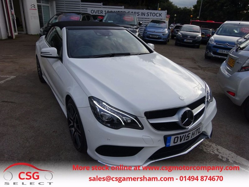 used Mercedes E400 AMG LINE - MASSIVE SPEC EVERY OPTION! in amersham