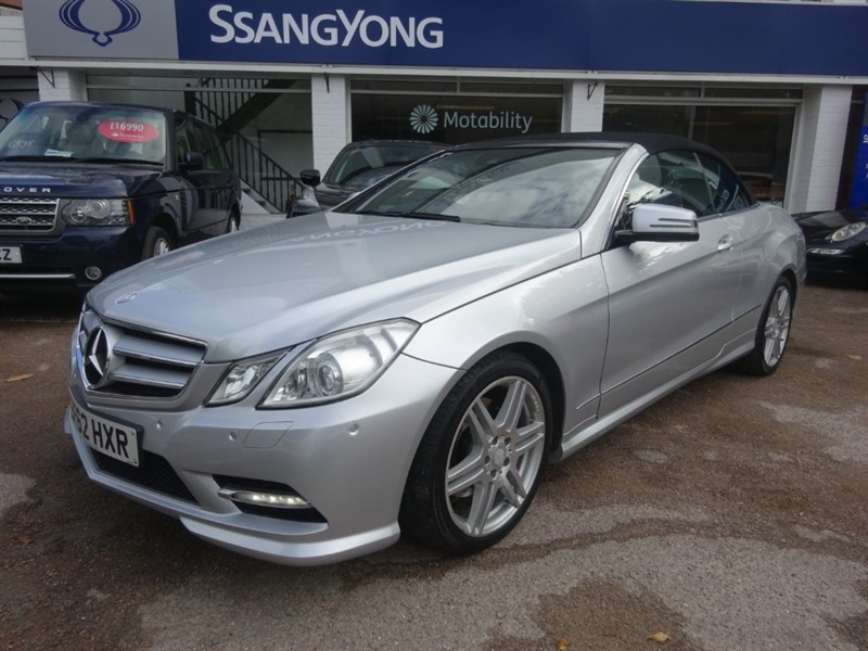 used Mercedes E350 CDI BLUEEFFICIENCY SPORT ED125 - LEATHER - FSH in amersham