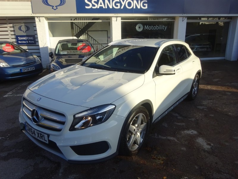 used Mercedes GLA220 CDI 4MATIC AMG LINE - SAT NAV - R/CAMERA - BLUETOOTH in amersham