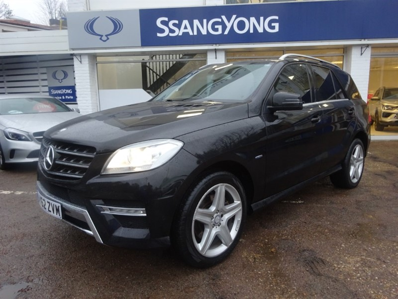 used Mercedes ML250 BLUETEC SPORT - SAT NAV - H/ SEATS - PDC - BLUETOOTH - FSH in amersham