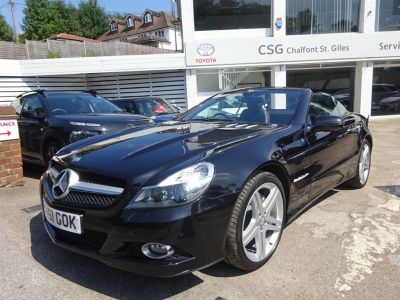 used Mercedes SL SL350 SAT NAV-FMSH-H/LEATHER-CLIMATE-CRUISE in amersham