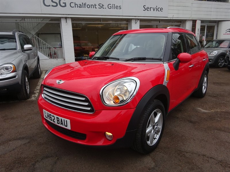 used MINI Countryman COOPER D - H/SEATS - BLUETOOTH - FSH - CLIMATE in amersham