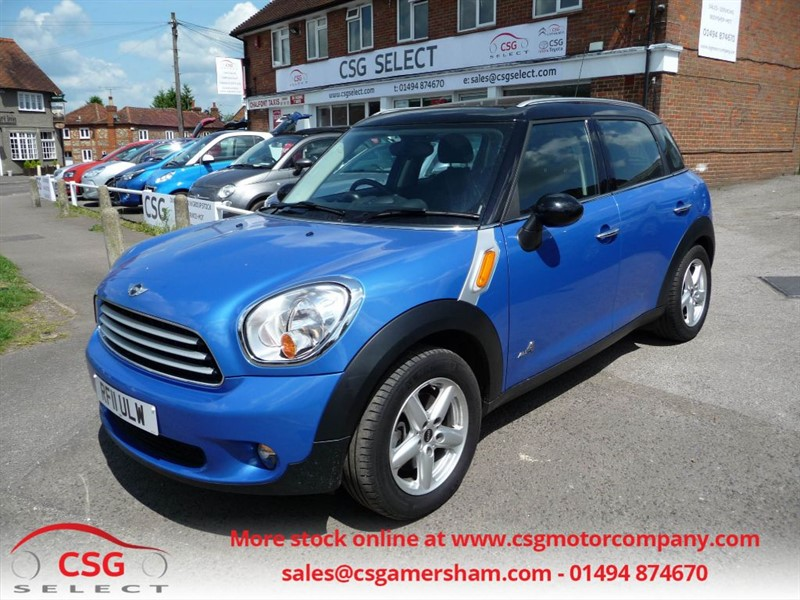 used MINI Countryman COOPER D ALL4 - FMSH - NAV - PAN ROOF - CLIMATE - BLUETOOTH in amersham