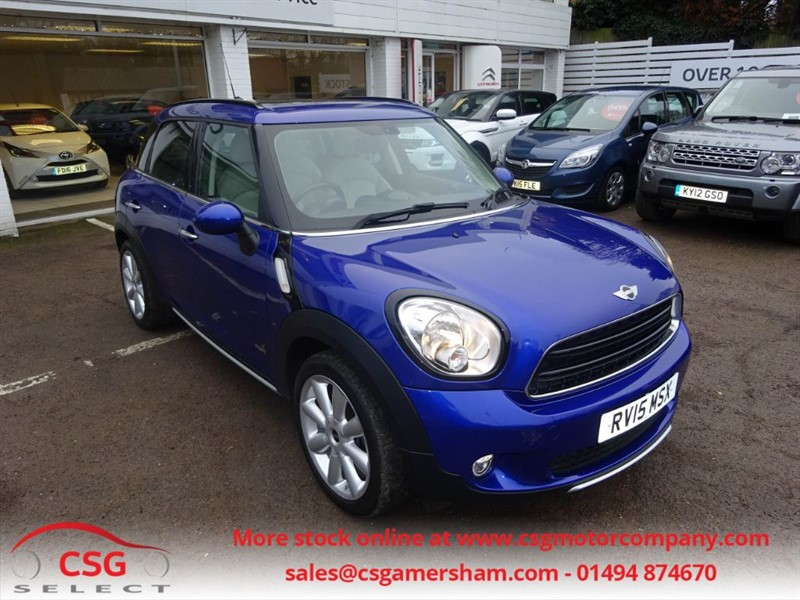 used MINI Countryman COOPER D ALL4 -PAN ROOD - H/SEATS - in amersham