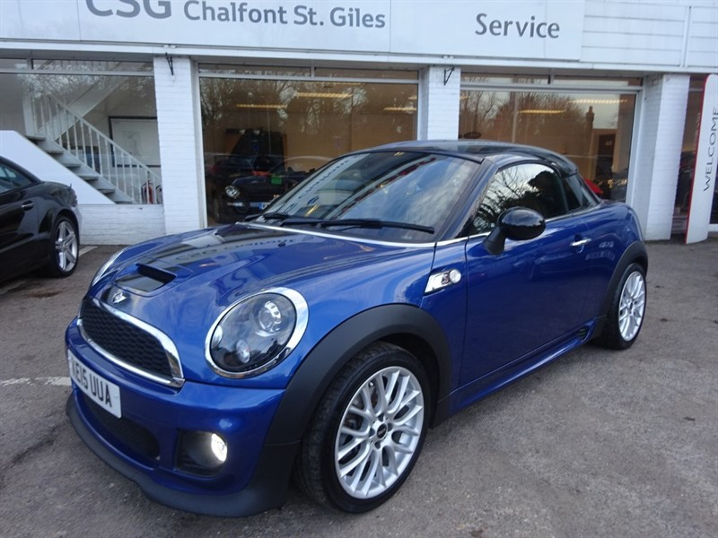 used MINI Coupe COOPER S - £6685 OF OPTIONS - SAT NAV - H/LEATHER - PDC in amersham