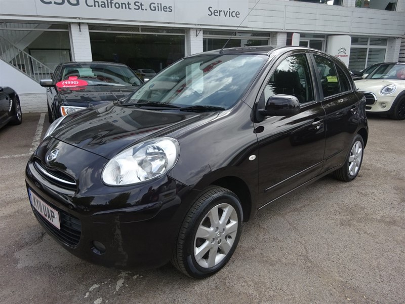 used Nissan Micra ACENTA - AIR CON - ALLOYS - FSH - ONE OWNER in amersham