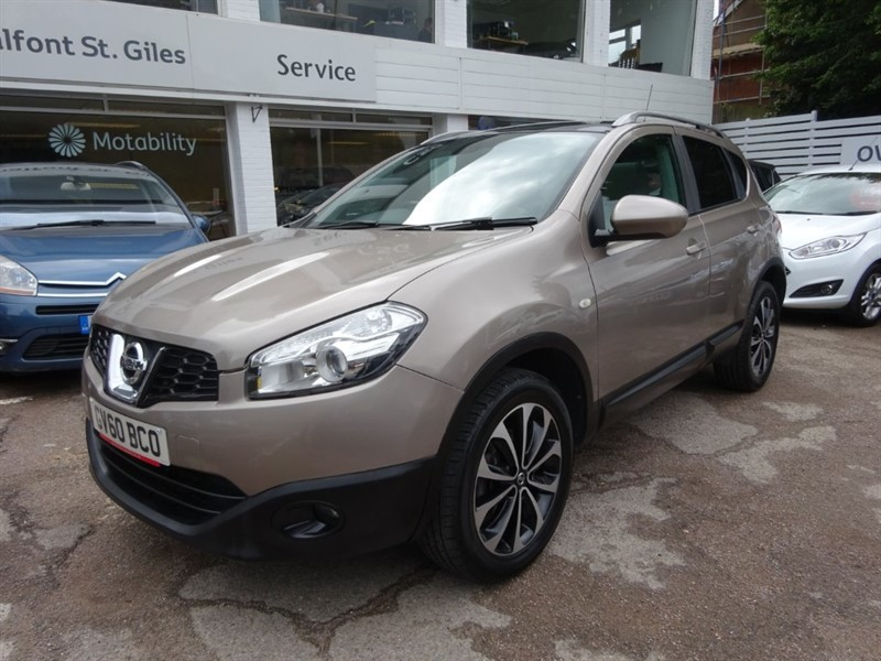 used Nissan Qashqai N-TEC - PAN ROOF -SAT NAV - R/CAMERA in amersham