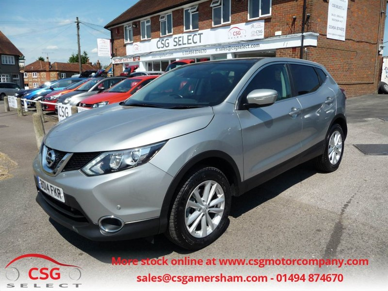 used Nissan Qashqai DCI ACENTA PREMIUM - FNSH - NAV - BLUETOOTH - AUTO LIGHTS in amersham
