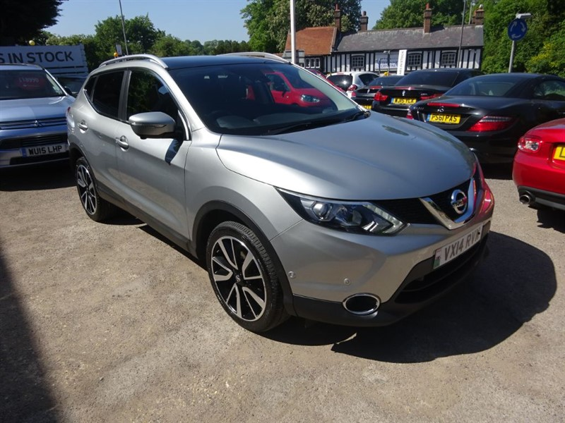 used Nissan Qashqai DCI TEKNA - 4X4 - 360 CAMERA - P/ROOF - SAT NAV in amersham