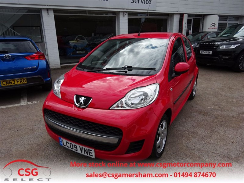used Peugeot 107 VERVE - FSH - AC - CD - CHEAP TAX & INSURANCE in amersham