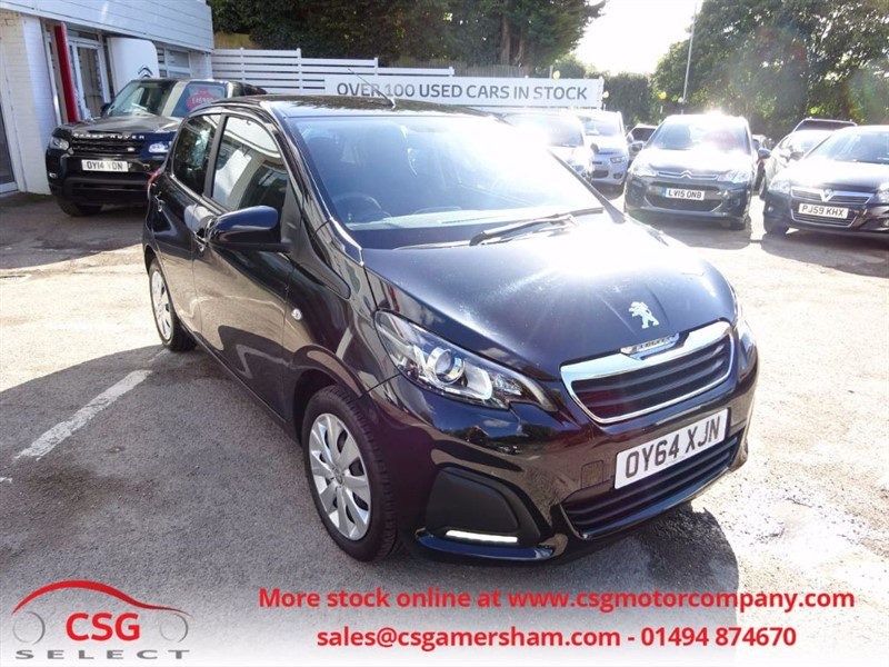 used Peugeot 108 ACTIVE - FFSH - AC - ALLOYS - BLUETOOTH in amersham
