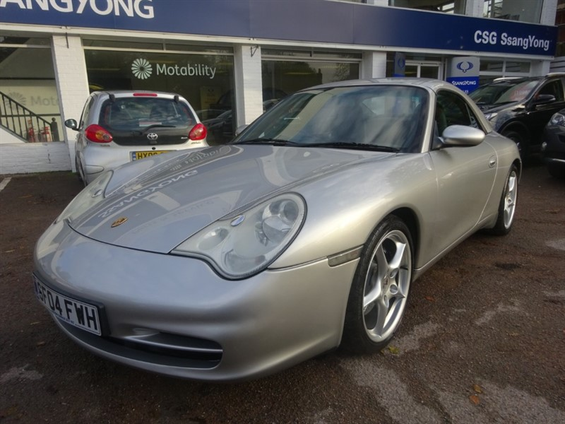 used Porsche 911 CARRERA 2 TIPTRONIC S - LEATHER - AIR CON - HARDTOP ROOF in amersham