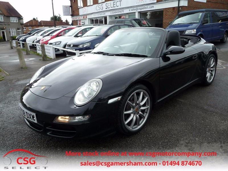used Porsche 911 CARRERA 2 - FSH - NAV - BOSE - PASM - SPORTS EXHAUST - LEATHER in amersham