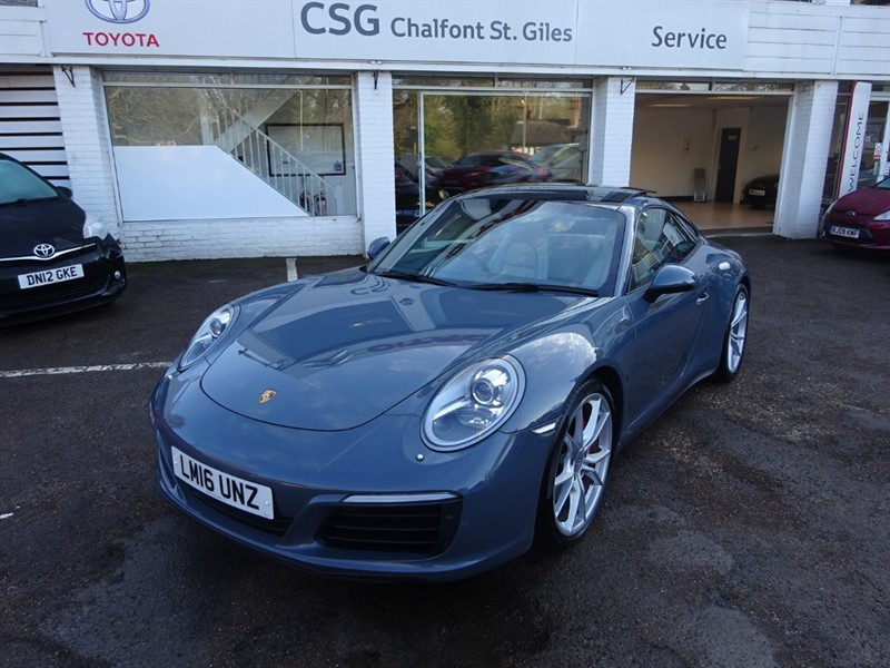 used Porsche 911 CARRERA 4S PDK - SAT NAV - FPSH - ONE OWNER in amersham