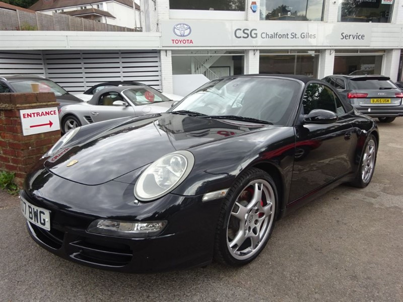 used Porsche 911 CARRERA 2 TIPTRONIC S - SAT NAV - FPSH - H/LEATHER - BOSE in amersham
