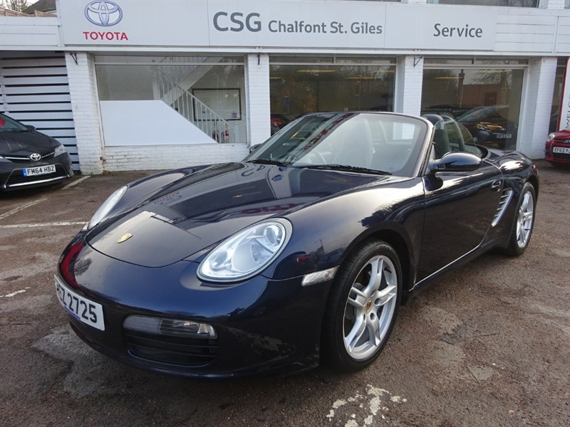 used Porsche Boxster 24V - FSH - ALLOYS  - CLIMATE -BLUETOOTH in amersham