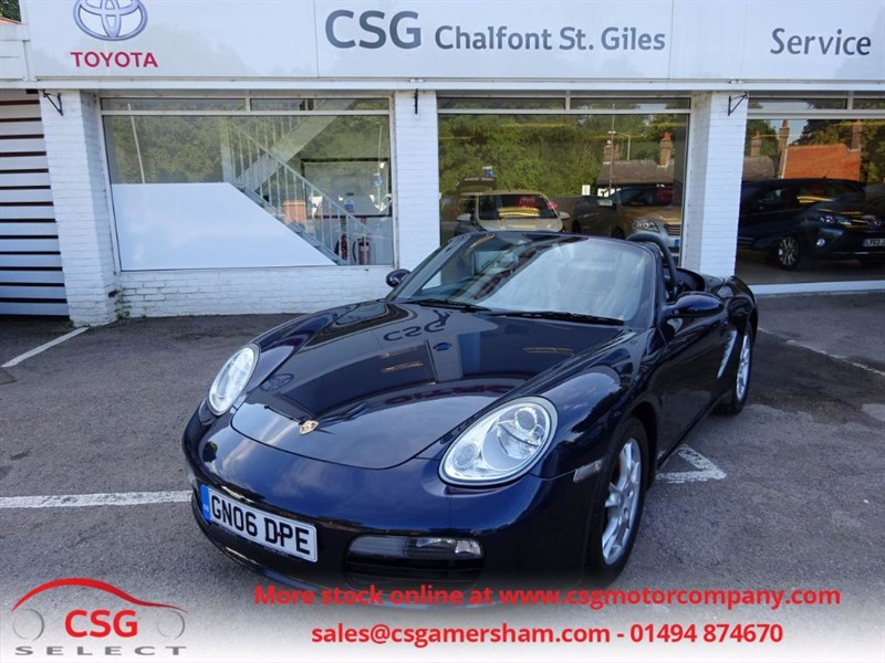 used Porsche Boxster 24V TIPTRONIC S - FSH - HEATED LEATHER - CRUISE - ALLOYS in amersham