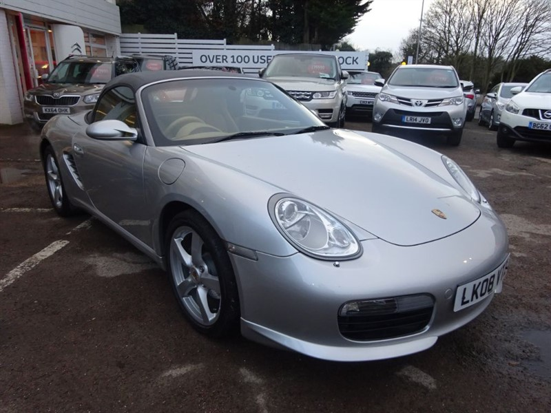 used Porsche Boxster 24V TIPTRONIC S - SAT NAV - HEATED LEATHER - FSH - BODYKIT in amersham