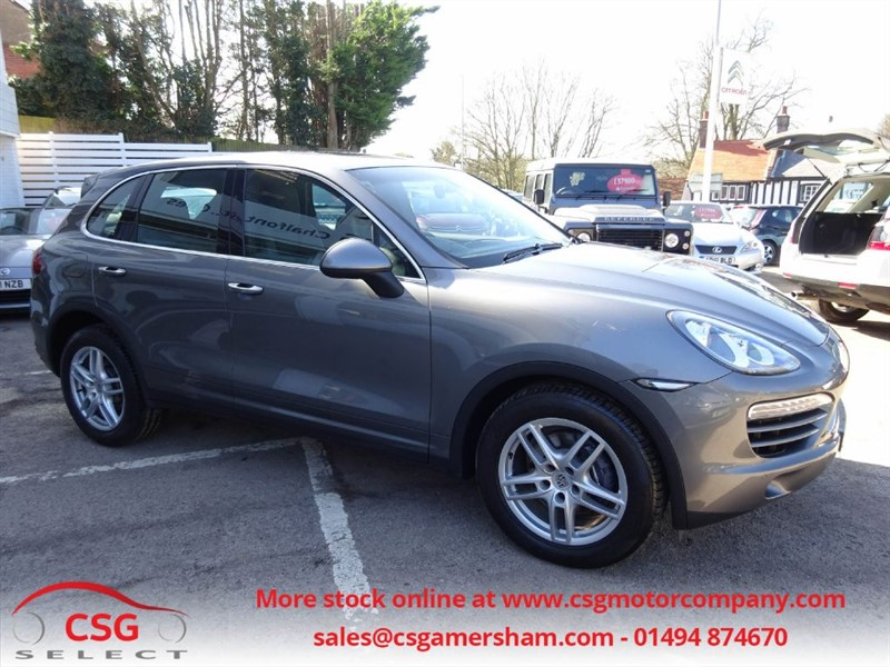 used Porsche Cayenne D V6 TIPTRONIC S - FPSH - NAV - HEATED LEATHER - BLUETOOTH in amersham