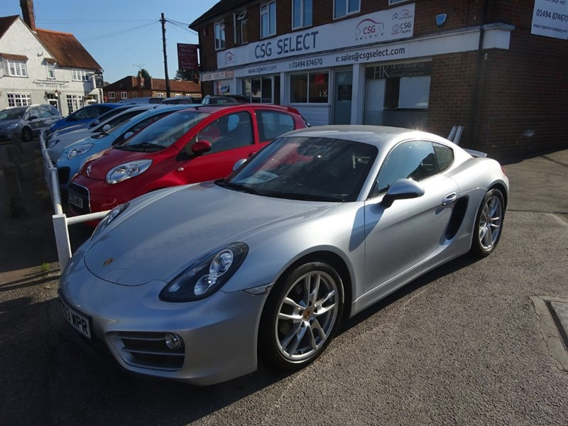used Porsche Cayman 24V PDK - 1 OWNER - FPSH - SAT NAV - LEATHER - PASM in amersham