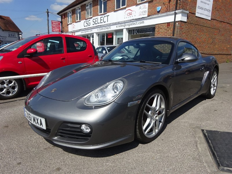 used Porsche Cayman 24V S PDK - HEATED AND COOLING SEATS - FPSH - BI XENONS in amersham