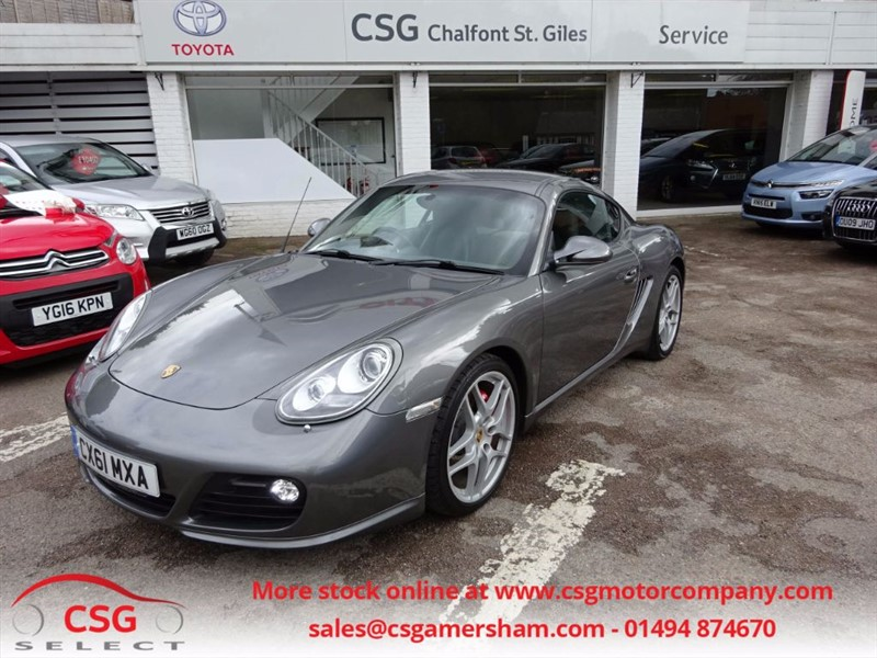 used Porsche Cayman 24V S PDK AUTO - FPSH - PASM - XENONS - LEATHER in amersham