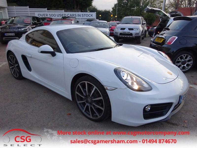 used Porsche Cayman 24V PDK - SAT NAV - FFSH - BIG SPEC - PCM in amersham