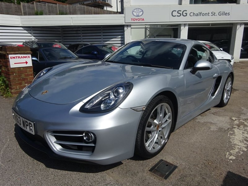 used Porsche Cayman 24V PDK - 1 OWNER - FPSH - SAT NAV - H/LEATHER - PASM in amersham