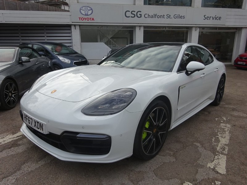 used Porsche Panamera 4 E-HYBRID -REAR WHEEL STEERING -REAR ENTERTAINMENT - NIGHT VISION in amersham