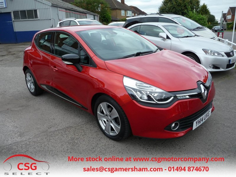 used Renault Clio DYNAMIQUE MEDIANAV ENERGY DCI S/S - FSH - AC - ALLOYS - AUTO LIGHTS in amersham