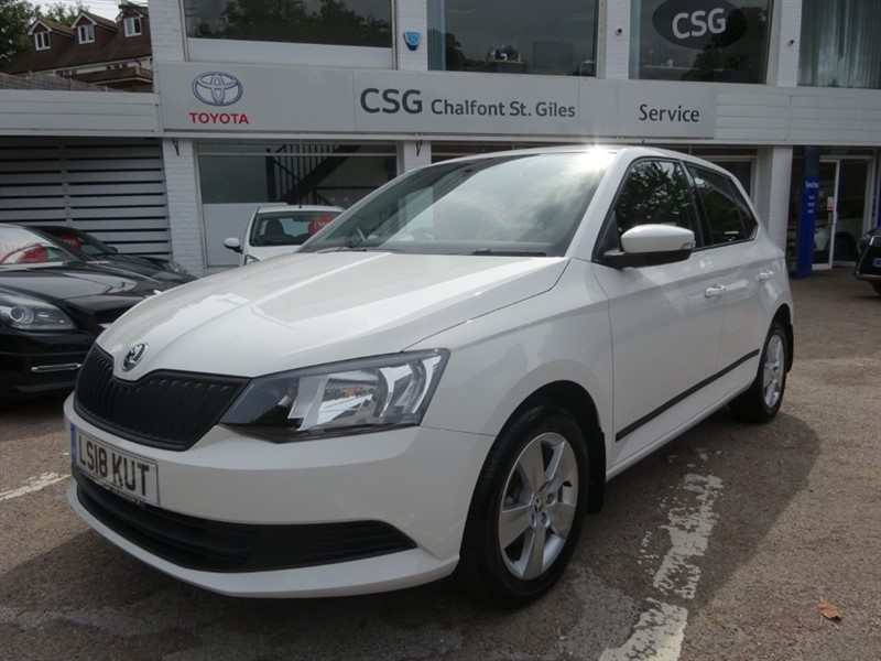used Skoda Fabia S PLUS - AIR CON - FSSH - BLUETOOTH - DAB RADIO in amersham