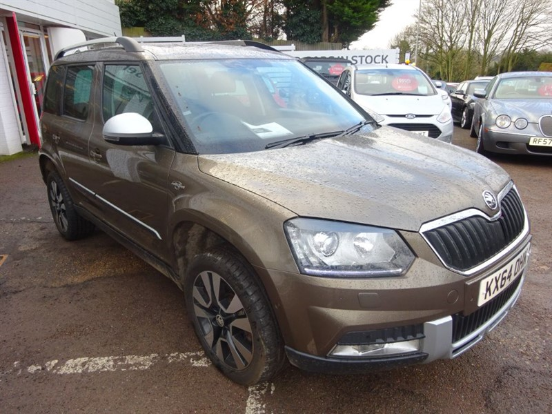 used Skoda Yeti OUTDOOR LAURIN AND KLEMENT TDI CR DSG 4X4 in amersham