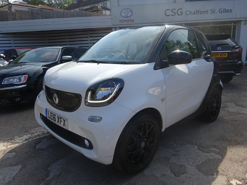 used Smart Car Fortwo Coupe PROXY PREMIUM PLUS T- SAT NAV - P/ROOF -1/2 LEATHER - CAMERA - ZERO TAX in amersham