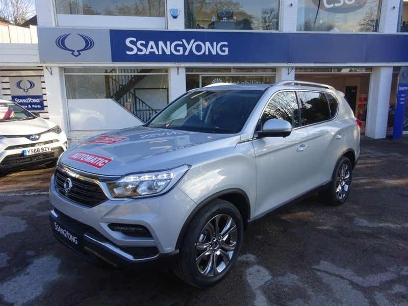 used Ssangyong Rexton Ultimate 2.2 Auto- Massive Discounts Shown For Affiliates in amersham