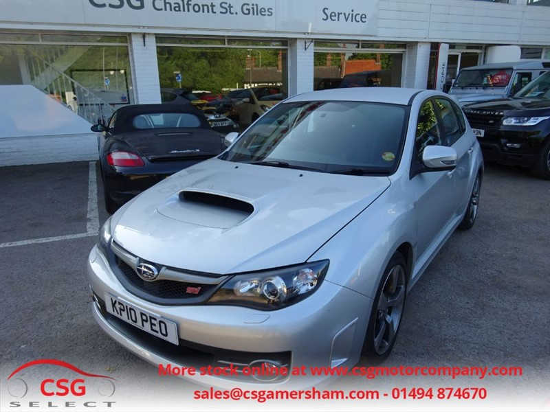 used Subaru Impreza WRX STI TYPE UK - SUBARU HISTORY - LEATHER TRIM - CLIMATE - CRUISE in amersham