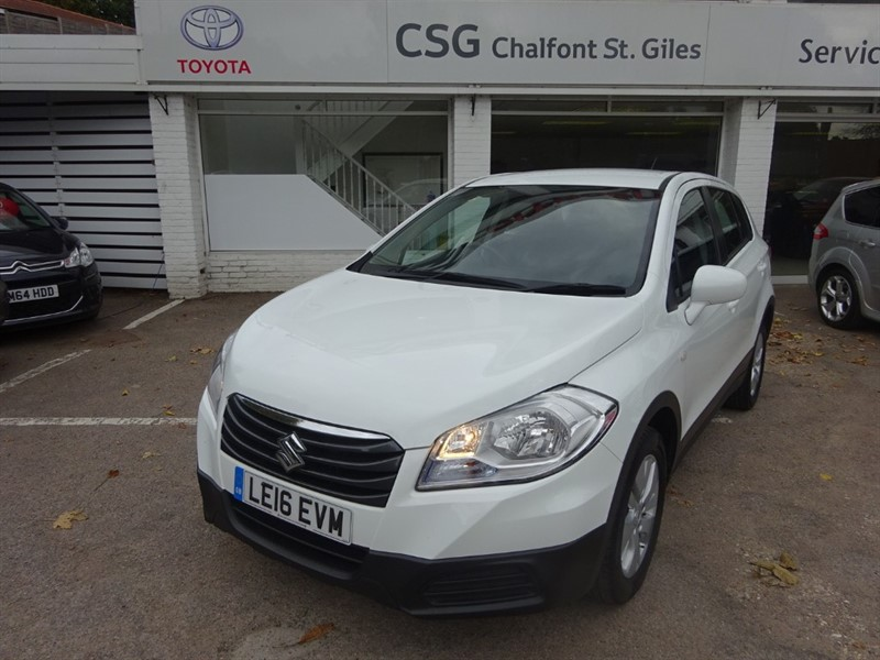 used Suzuki SX4 S- CROSS - SZ3 - AIR CON - CRUISE CONTROL -FSH - ALLOYS in amersham
